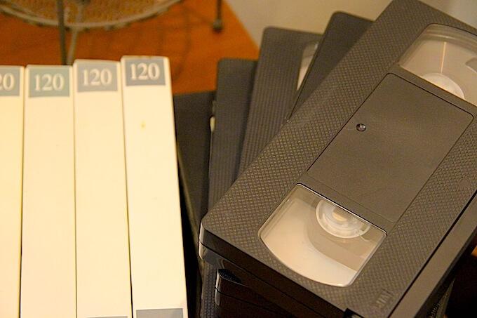 vhs-videotape